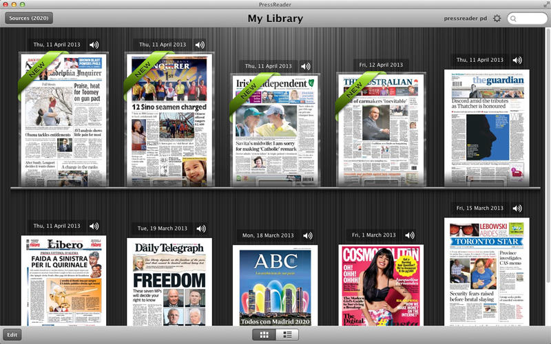 PressReader Screenshot - 1