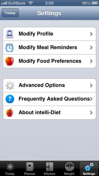 intelli-Diet App | Weight Loss App iPhone Screenshot 5