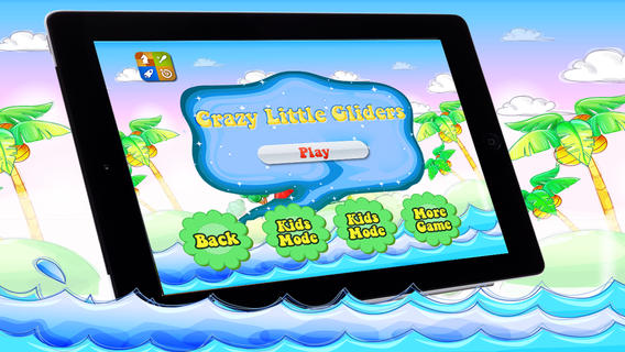 Crazy Little Gliders - Flying Games For Boys And Girls Who Love Gliding Above Sea Water