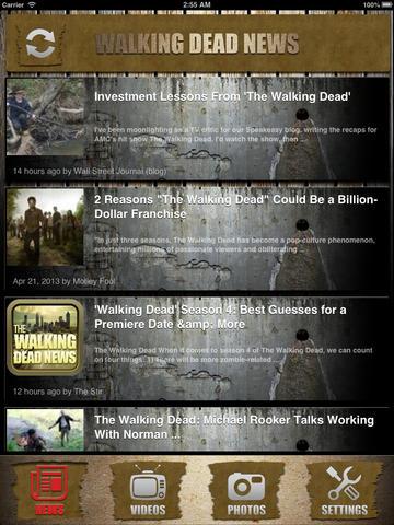 News for Walking Dead