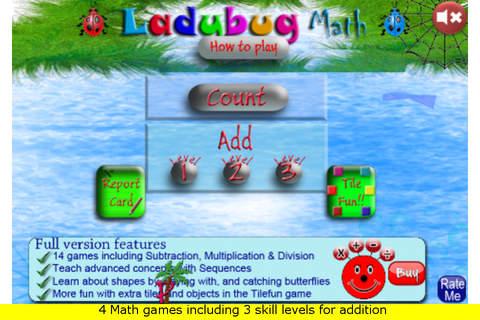 Ladybug Math Addition