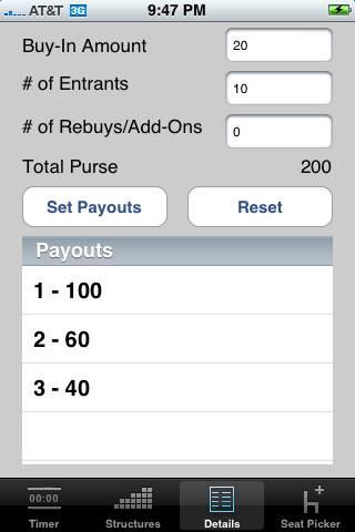 Pokergy iPhone Screenshot 2