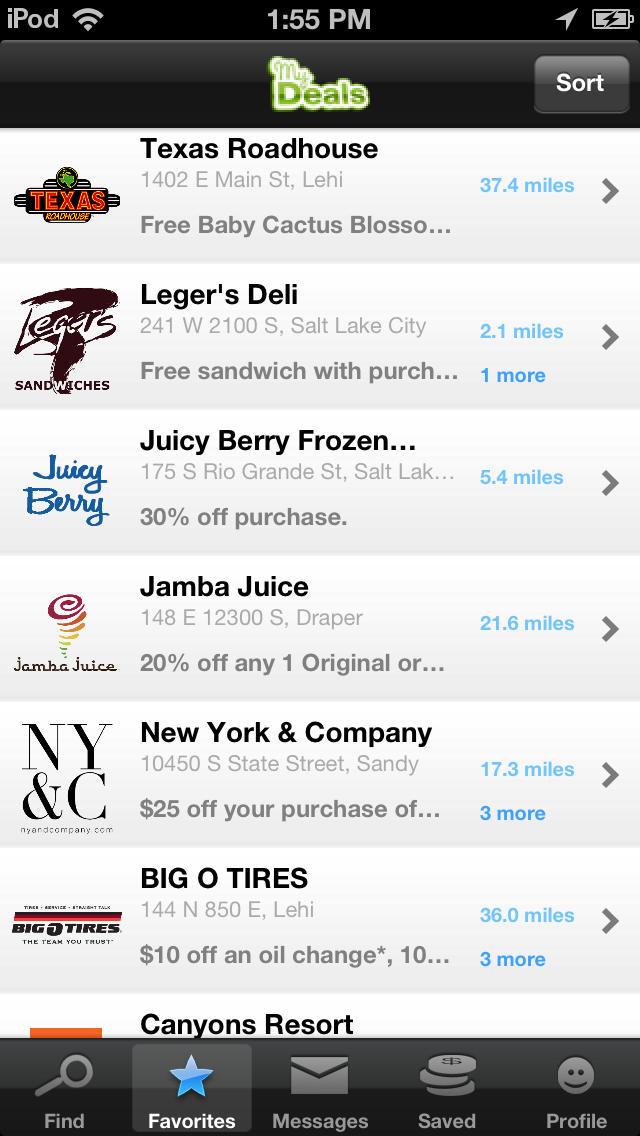 Worldventures my deals app