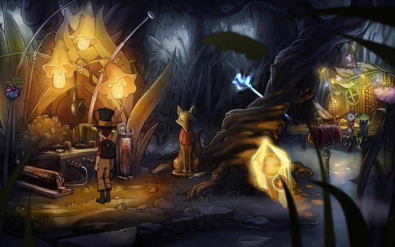 Night of the Rabbit Screenshot