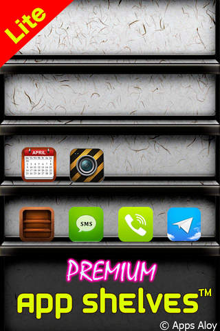 Premium App Shelves ™ Lite