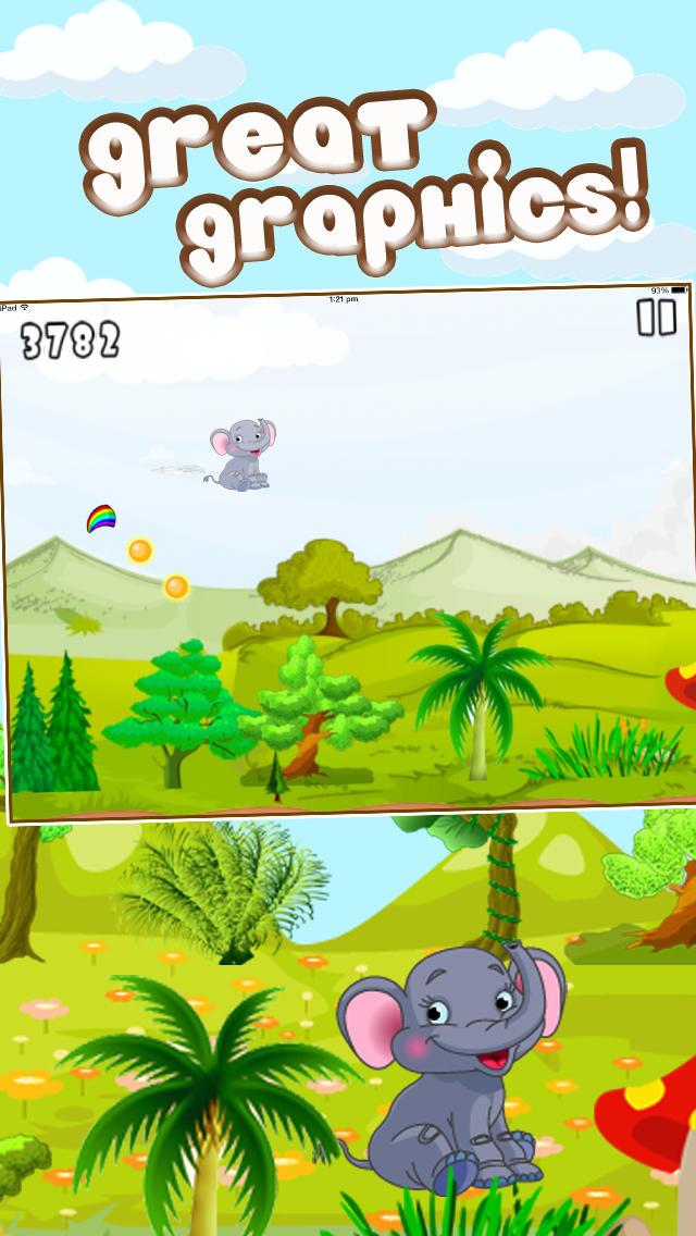 Baby Elephant Trampoline Adventure Pro