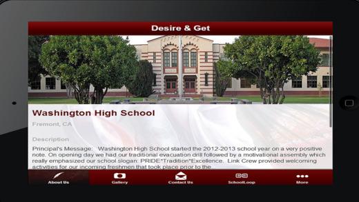 Washington High