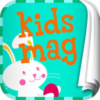 KidsMg Easter Special Edition LOGO-APP點子