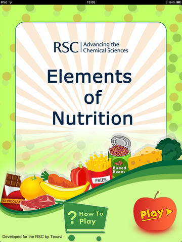 Elements of Nutrition - For iPad