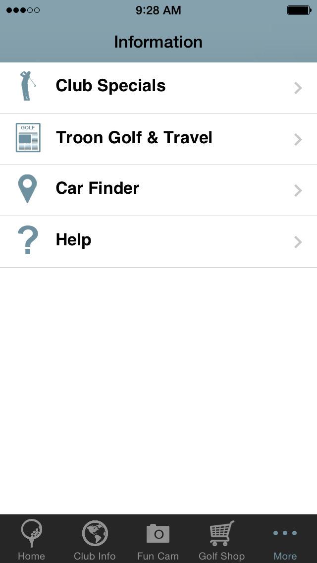 Cimarron Hills Golf & Country Club  Screenshot