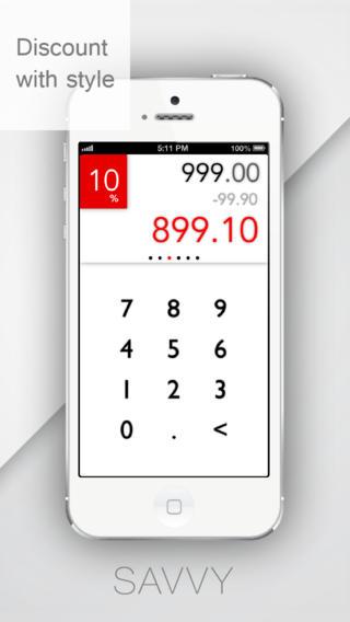 Savvy - Discount Calculator