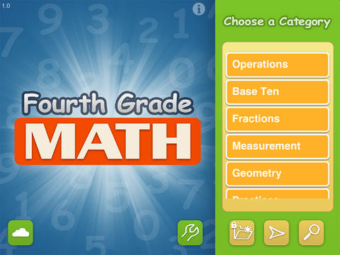 Math Fourth Grade - Common Core curriculum builder and lesson designer for teachers and parents