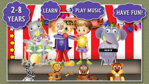 Kip's Band - fun music app for kids