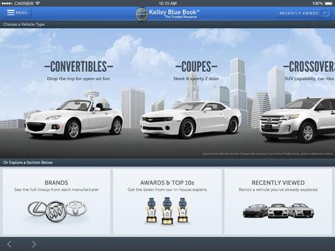 KBB.com Car Prices Reviews for iPad