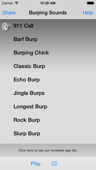 Burping Sounds