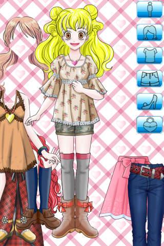 Dress Up Girl Lite iPhone Screenshot 3