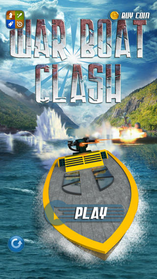 Action War Boat Clash - Jungle Extreme Battle Racing