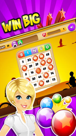 Candy Bingo HD - High Payout and Free Chips