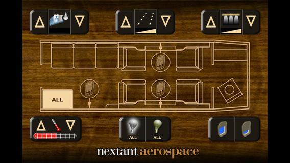 Nextant 400XTi Cabin Management System