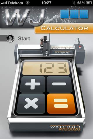 Waterjet Calculator