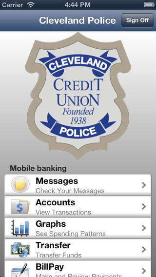 Cleveland Police CU Mobile Banking