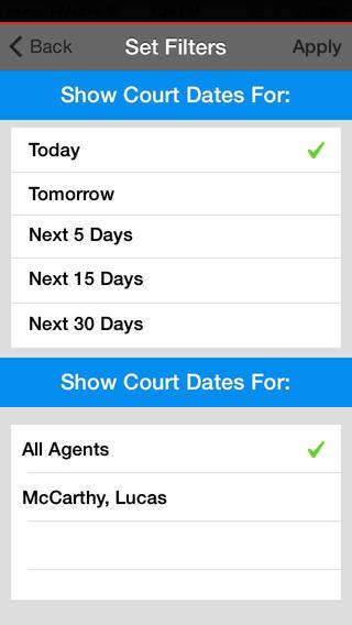 Bailbooks Agent App