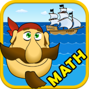 Math Sea Fight. Smart Pirate