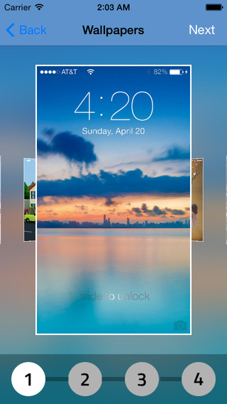 Homescreen Lock - pimp your lockscreen and customize with new themes