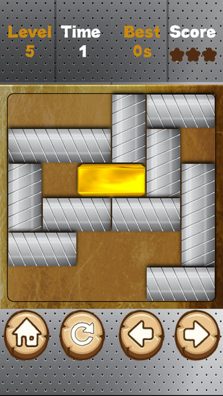 FREE Gold Block - Slide To Unblock Your Gold Bar - Fun Addictive and Challenging Game