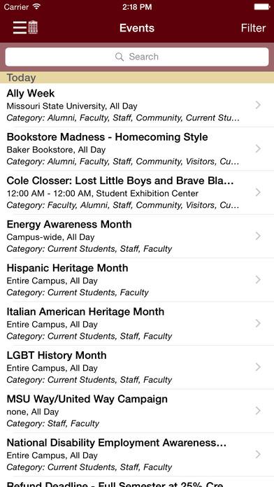 MSU Mobile iPhone Screenshot 3
