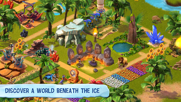 Ice Age Village - iPhone Mobile Analytics and App Store Data