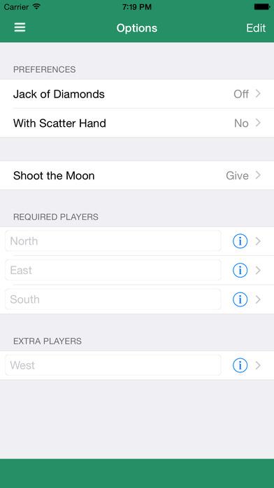 HeartsSC iPhone Screenshot 3