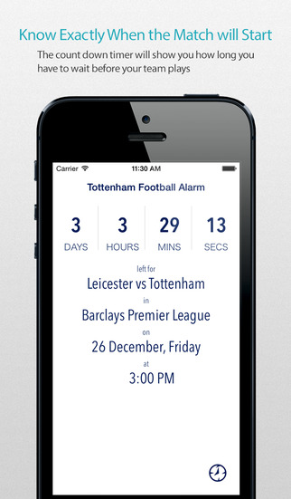 Tottenham Football Alarm — News live commentary standings and more for your team