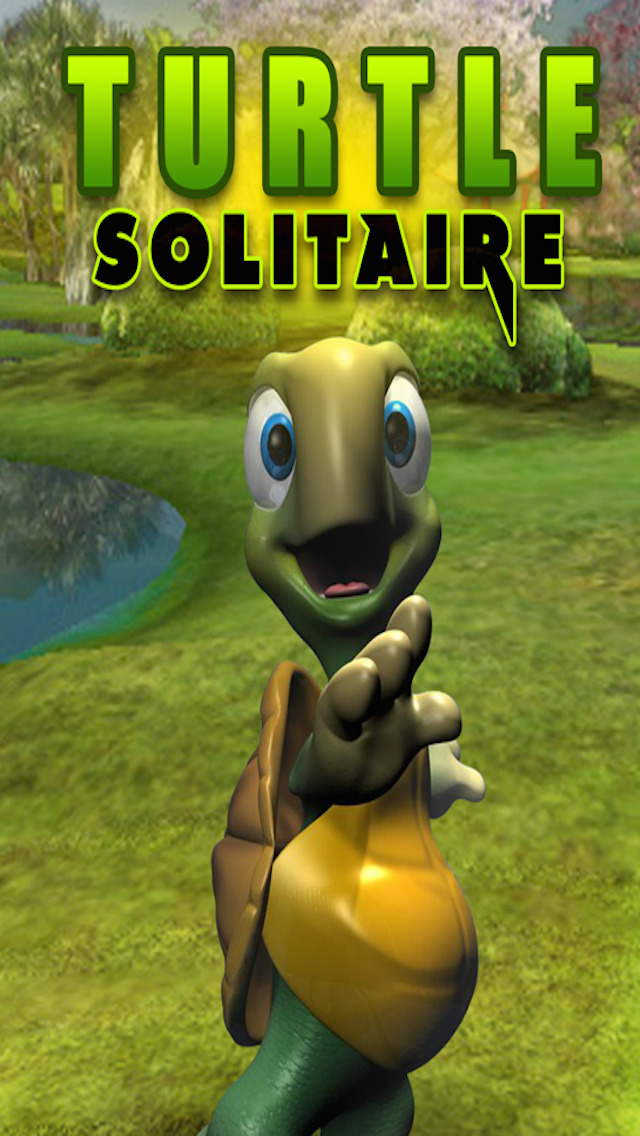 Real Turtle Solitaire Fun Easy Deluxe 3d Card Game