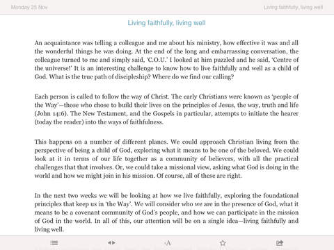 Guidelines: Bible Study for Today's Ministry and Mission iPad Screenshot 2