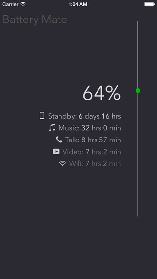 Battery Mate - check your battery on your phone or watch