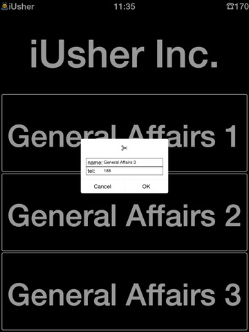 iUsher Screenshots