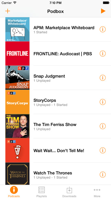 Podbox - Podcast Player screenshot