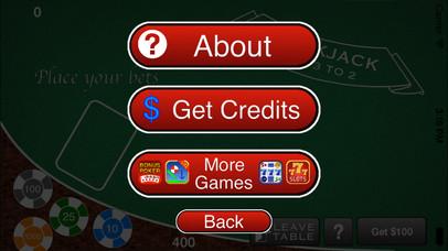 Screenshot 3 AAA Blackjack– Бесплатный игорный симулятор казино Блэкджек 21