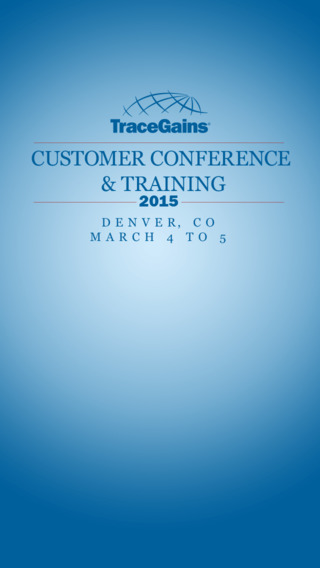 TraceGains 2015 Customer Conference Training
