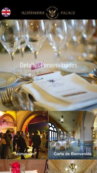 Banquetes y Bodas Hotel Alhambra Palace