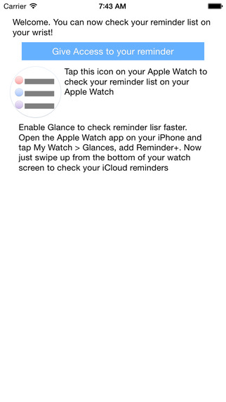 Reminder + : Your in-bulit to-do list app for Apple Watch