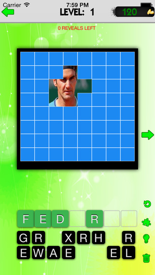 Guess the Famous Tennis Player Quiz - Reveal the Picture and Guess Who is the Famous Athlete