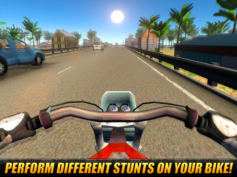 Moto Traffic Rider 3D: Speed City Racing Full Screenshots