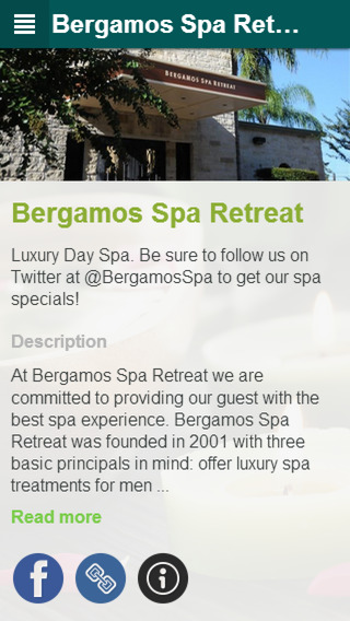 Bergamos Spa Retreat