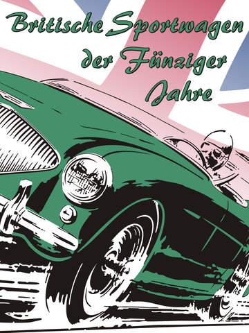 Britische Sportwagen der 50er Jahre