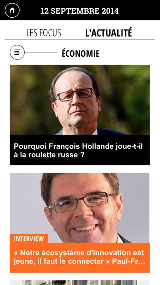 La Tribune pour iPad iPhone Screenshot 3