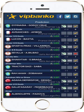 VIPBANKO - Betting Tips Screenshots