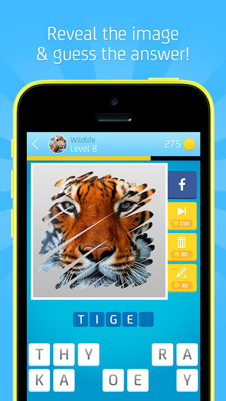 Reveal The Picture Quiz Free Scratch Guess Puzzle Game
