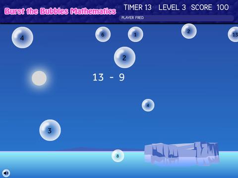 Burst the Bubbles Mathematics